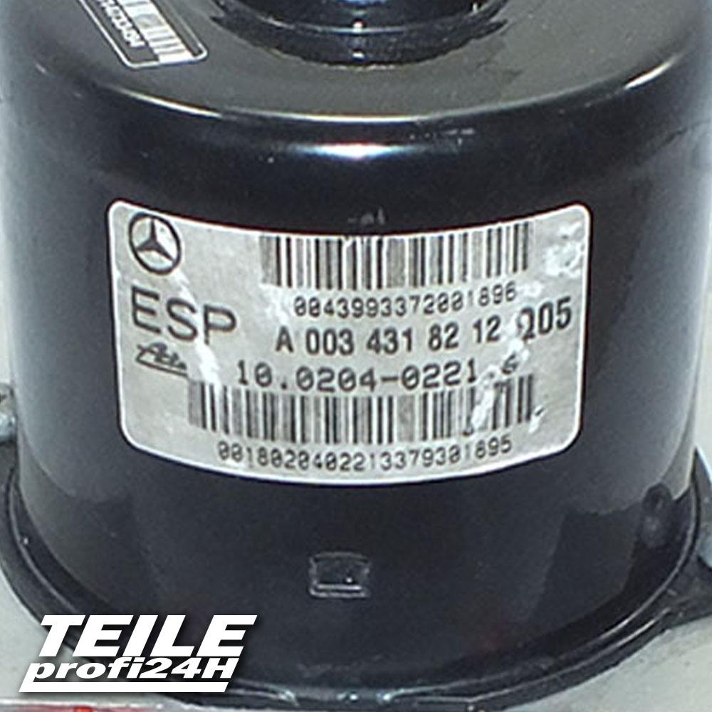 ABS A0034318212 10020402214 A2025454732 10094715123 Mercedes 24Monate Garantie*